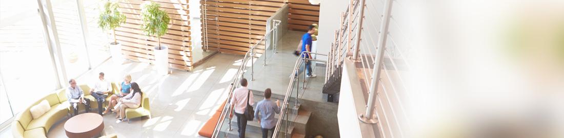 Reinigung Verwaltungsgebäude