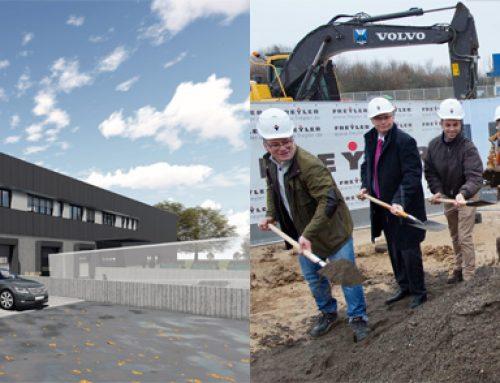 Mehr Kapazitäten – Neubau einer Logistikhalle mit Bürofläche